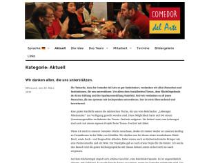 Website_Comedor